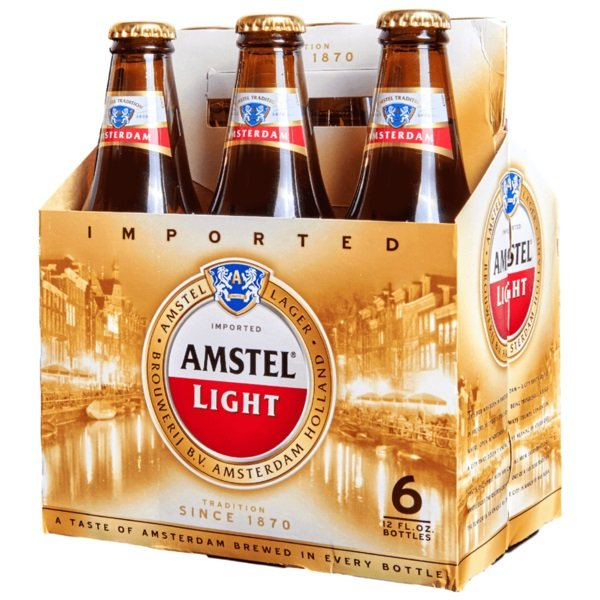Amstel Light Bottles 12oz Beercastleny