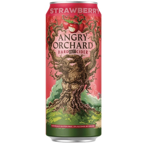 Angry Orchard Strawberry Cider 12oz can
