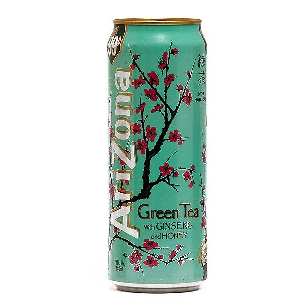 Arizona Green Iced Tea with Ginseng and Honey, Can, 23 fl oz, 1 ct | BeerCastleNY
