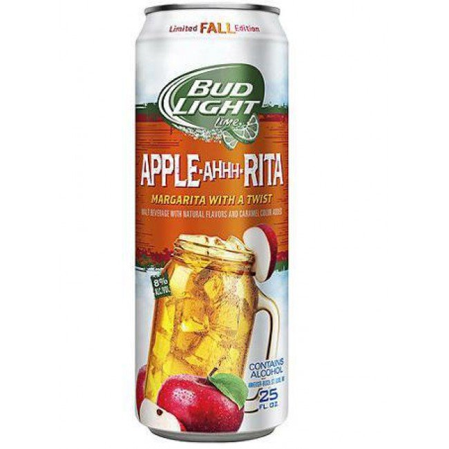 Bud Light Apple Ahhh Rita Cans Beercastleny