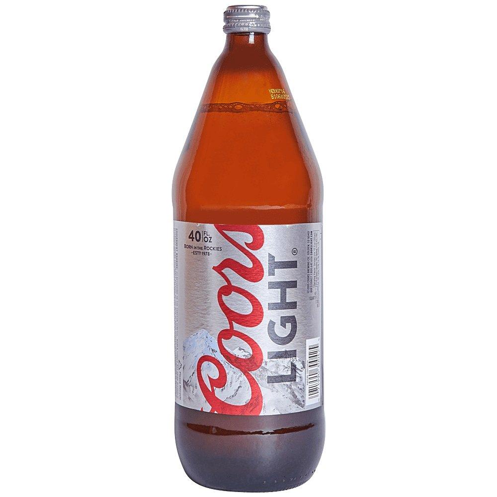 Red Alcoholic Malt Drinks In A Bottle