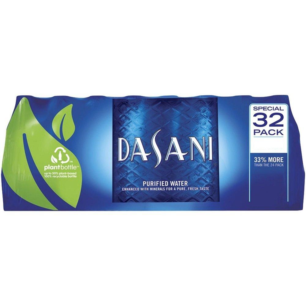 Zephyrhills Sports Bottle: Dasani, Bottles, 8 Fl Oz, 32 Pack