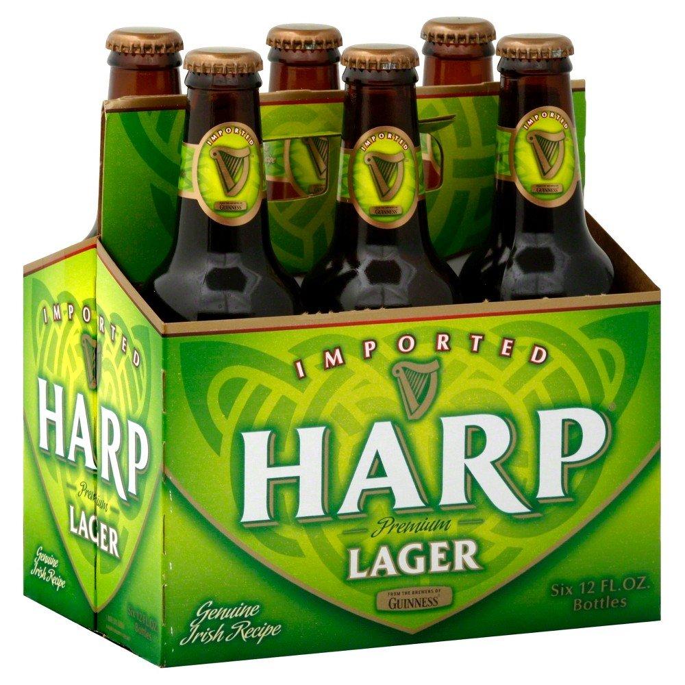 Harp Lager Bottles 12oz 6 Pack Beercastleny