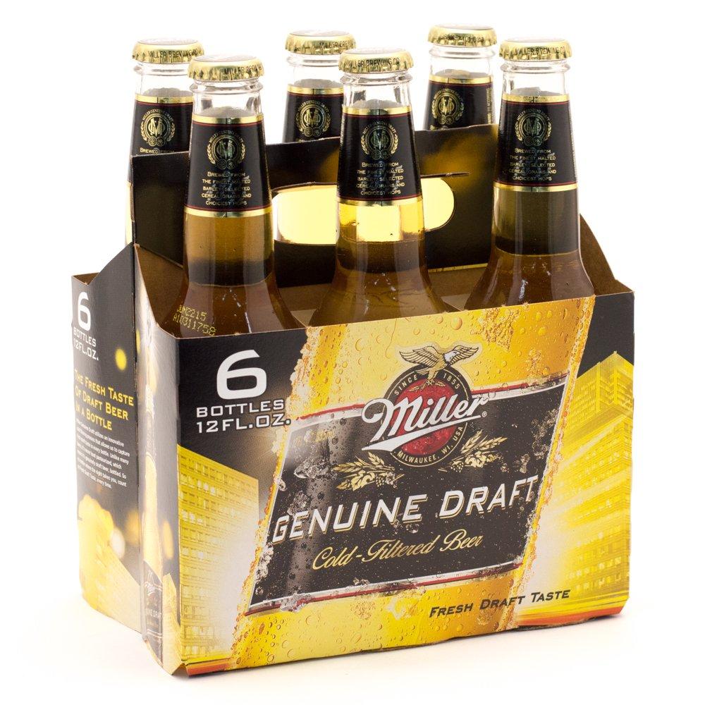 Download Miller Genuine Draft, Bottles, 12oz   BeerCastleNY