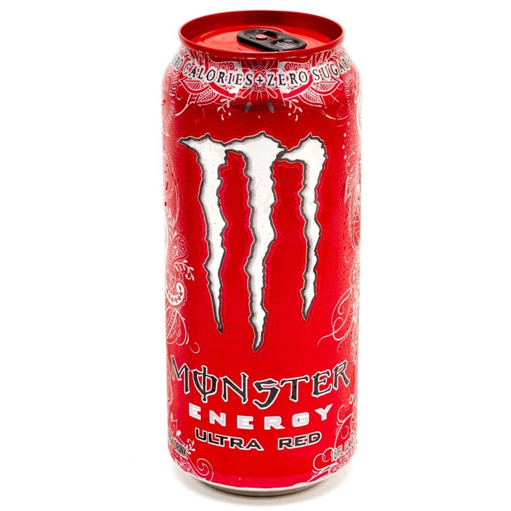 Monster Energy Ultra Red, Cans, 16 fl oz, 6 ct | BeerCastleNY