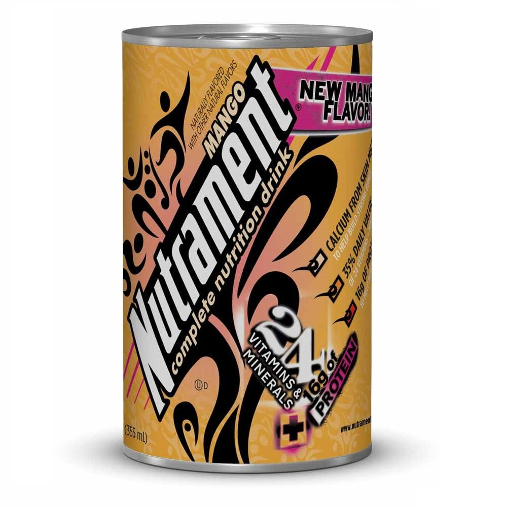 Nutrament Complete Nutrition Drink Mango Cans 12 Fl Oz 6 Ct