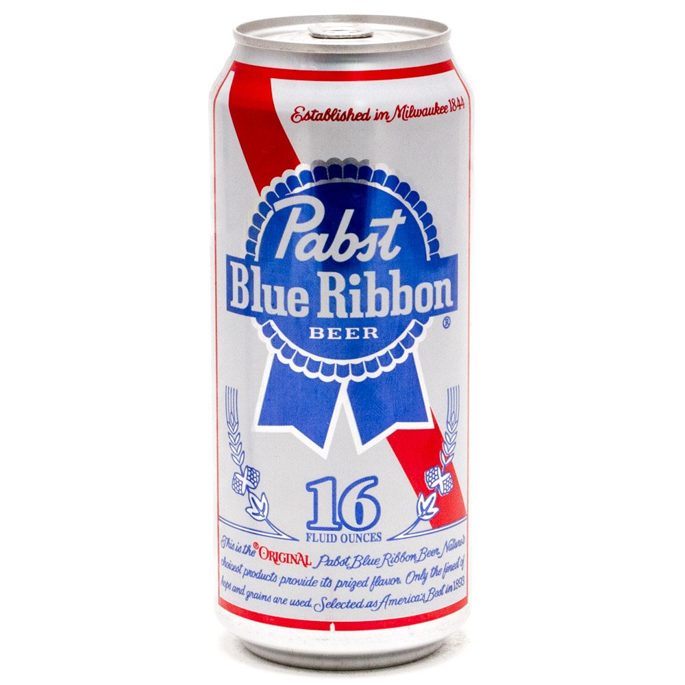 Pabst Blue Ribbon Cans 16oz Beercastleny