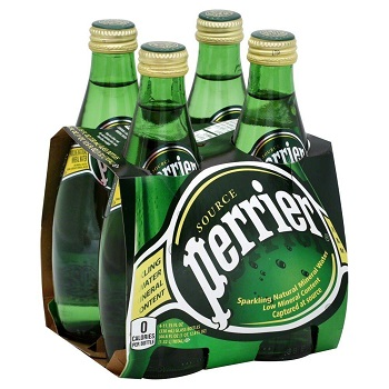 Perrier, Sparkling, Bottles, 11 fl oz, 4 pack