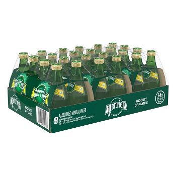 Perrier 24 Glass Bottles 11oz