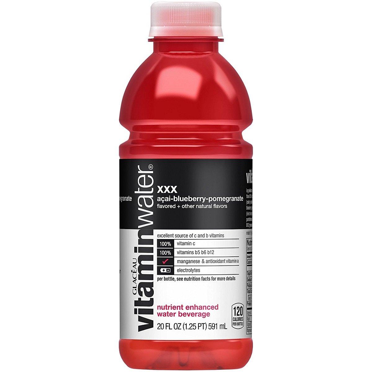 Vitamin Water XXX (Açai-Blueberry-Pomegranate), Bottles