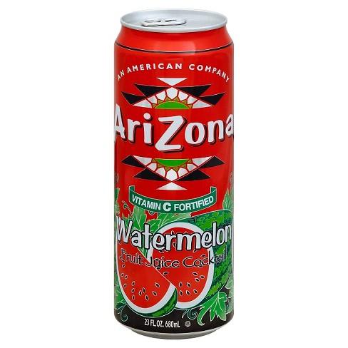Arizona Watermelon Flavour Can