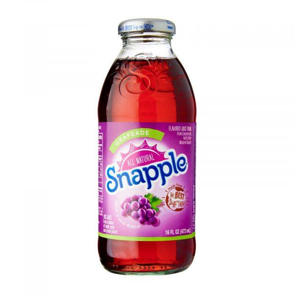 Snapple Grapeiad, Glass Bottle