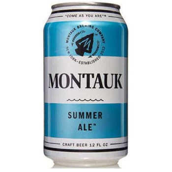 Montauk Summer Ale 12oz can
