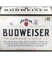 Budweiser Copper 12 bottles case