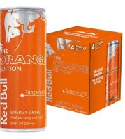 red bull orange 8oz 4cans