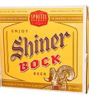 Shiner Bock , Bottles ,12 oz 12 pack