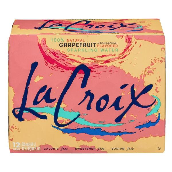 LaCroix Sparkling Water, Grapefruit 12z 12cans