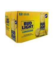Bud Light Lemonade 12oz 12cans