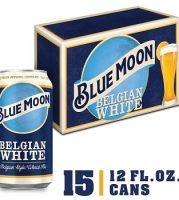 Blue Moon Belgian White 12oz 15cans