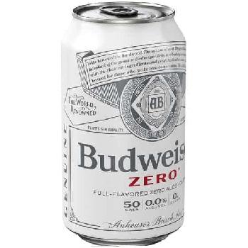 Budweiser Zero 12oz can
