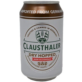 Clausthaler Dry Hopped NA cans